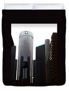 Downtown Detroit Through Joey's Eyes Duvet Cover
