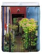 Downtown Garden Path Duvet Cover