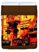 Downtown Heatwave  Duvet Cover