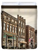Downtown Jonesborough Duvet Cover