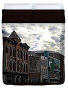 Downtown Nashville Duvet Cover