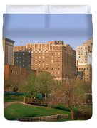 Downtown Omaha Ne Duvet Cover