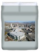 Downtown Salt Lake City Duvet Cover