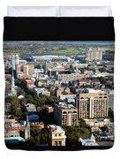 Downtown Savannah Duvet Cover