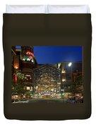 Downtown Spokane Washington Duvet Cover