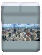 Downtown St. Louis Duvet Cover