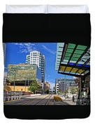 Downtown Tacoma Hdr Duvet Cover