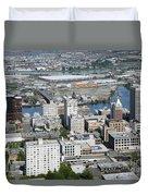 Downtown Tacoma Washington Duvet Cover