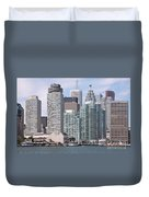 Downtown Toronto Ontario Duvet Cover