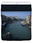 Downtown Venice Duvet Cover
