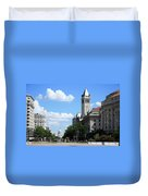 Downtown Washington Duvet Cover