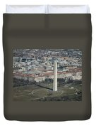 Downtown Washington Dc Duvet Cover