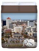 Downtown Wichita Duvet Cover