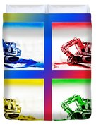 Dozer Mania IIi Duvet Cover by Kip DeVore