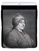 Dr Benjamin Franklin Duvet Cover