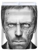 Dr. Gregory House - House Md Duvet Cover