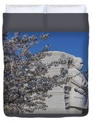 Dr Martin Luther King Jr Memorial Duvet Cover