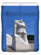 Dr Martin Luther King Memorial Duvet Cover