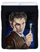 Dr Who #10 - David Tennant Duvet Cover