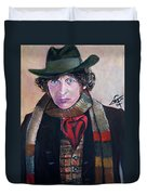 Dr Who #4 - Tom Baker Duvet Cover