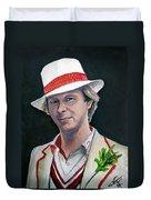 Dr Who #5 - Peter Davison Duvet Cover