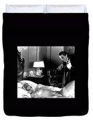 Dracula Bela Lugosi Fantasy Nude Duvet Cover