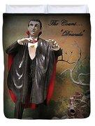 Dracula Model Kit Duvet Cover