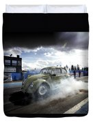 Drag Racing 1 Duvet Cover