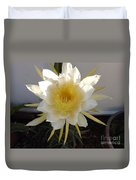 Dragon Fruit Bloom In The Morning Duvet Cover