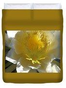 Dragon Fruit Blossom Iv Duvet Cover