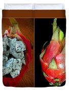 Dragon Fruit Duvet Cover