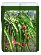 Dragon Fruit Tree Duvet Cover