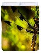 Dragonfly - Dragon Waiting Duvet Cover