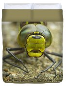 Dragonfly Close-up Duvet Cover