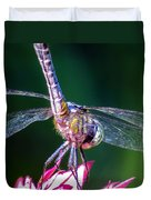 Dragonfly Close Up Duvet Cover