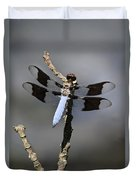 Dragonfly Common Whitetail Duvet Cover