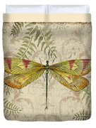 Dragonfly Daydreams-a Duvet Cover