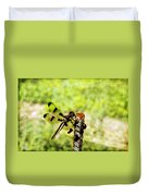 Dragonfly Eating Breakfast Duvet Cover
