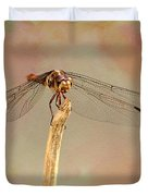 Dragonfly In Fantasy Land Duvet Cover
