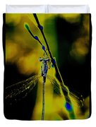 Dragonfly In The Sun Duvet Cover