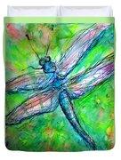 Dragonfly Spring Duvet Cover