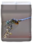 Dragonfly Stance Duvet Cover