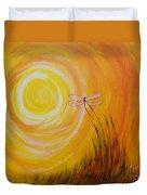 Dragonfly Sun Duvet Cover