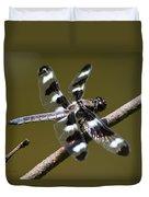 Dragonfly Twelve Spot Skimmer Duvet Cover