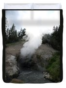 Dragon's Mouth Hot Spring Duvet Cover