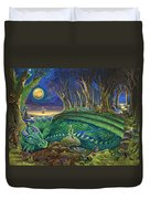 Dragon's Slumber  Duvet Cover