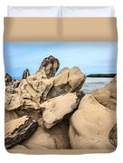 Dragon's Teeth Closeup Duvet Cover