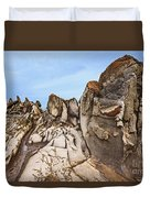 Dragon's Teeth Rocks Duvet Cover