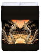 Dragon's Temple Duvet Cover