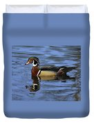 Drake Wood Duck Duvet Cover